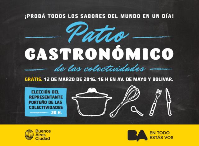 Flyer Patio Gastronómico 2016